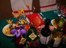 Столик невесты - мексиканское накрытие