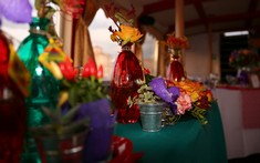 Мексиканское украшение стола