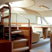 Лестница на Яхте Princess 67