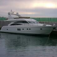 Внешний вид яхты Princess 67