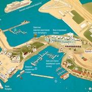 Карта Форта Константин