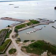 Общий вид на Форт Константин