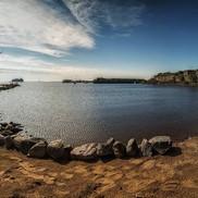 Вид на залив с Форта Константин