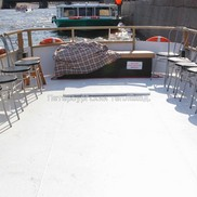 Открытая палуба Теплохода Альбатрос (ПС-291)