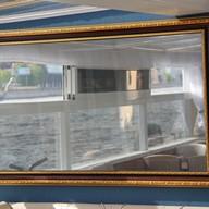 Зеркало на теплоходе Диана