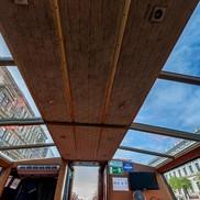 Стеклянный потолок теплохода Элегия