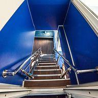 Лестница на теплоходе Глория.