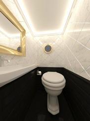Туалет на теплоходе Гранд Вояж