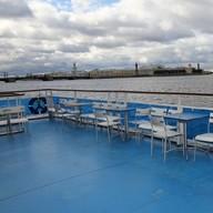 Открытая палуба Теплохода Москва 183