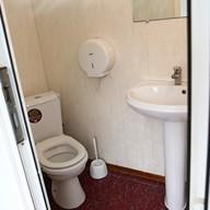 Туалет теплохода Москва 213