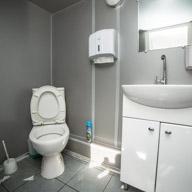 Туалет на теплоходе Нефрит