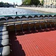 Открытая площадка на теплоходе Пиета