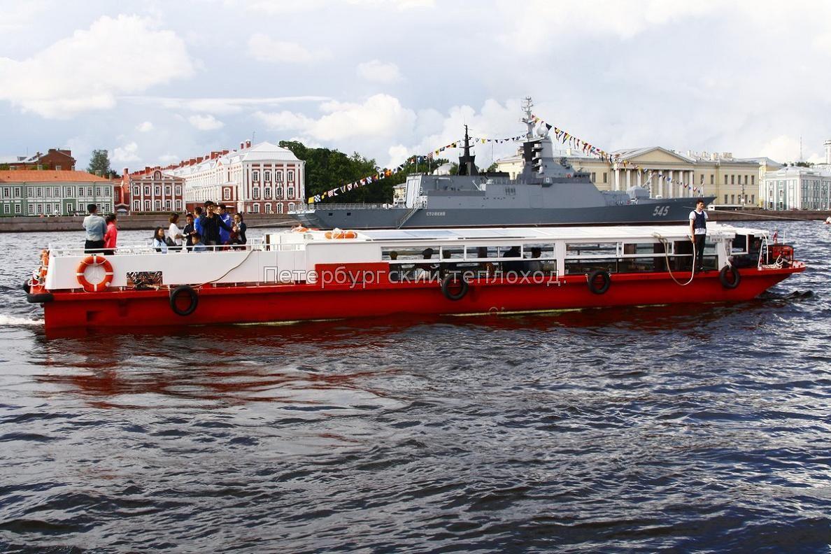 Теплоход РКМ1.